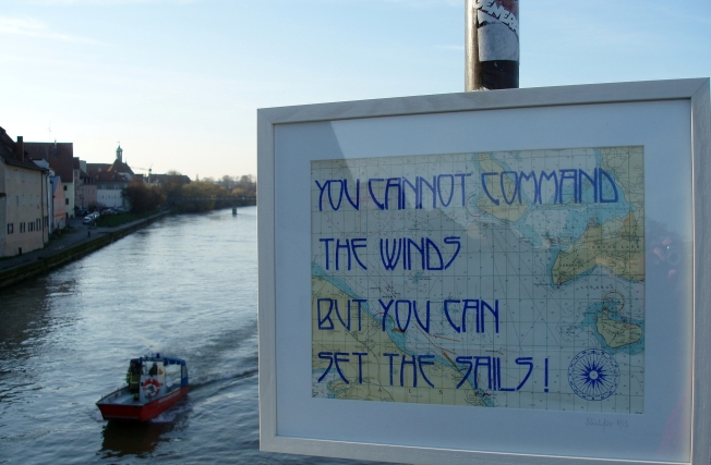 The winds...
