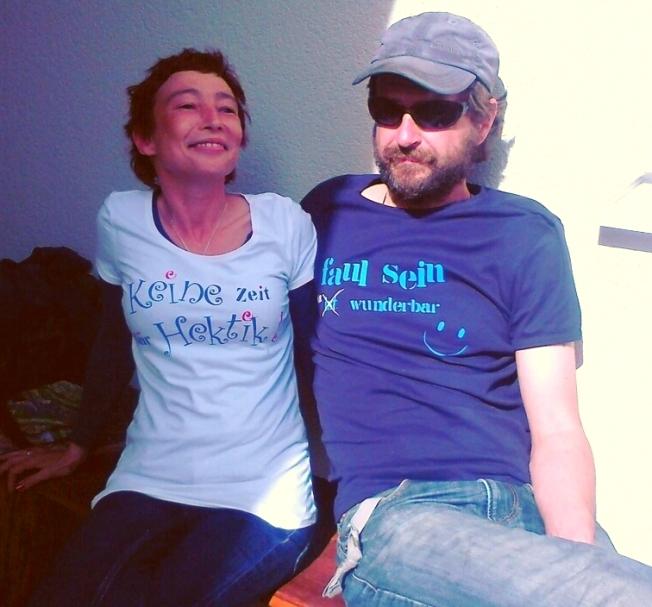 T-shirt Faul sein1
