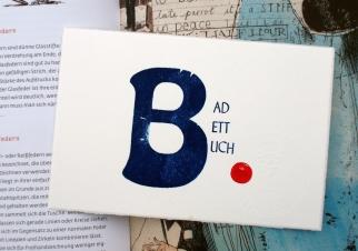 Letterpress auf Büttenpapier