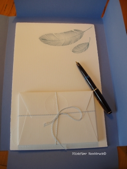 Briefpapier: Büttenpapier 130g/m², DIN A4