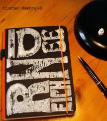 Typographische Notizbücher, DIN A 5 & DIN A 4