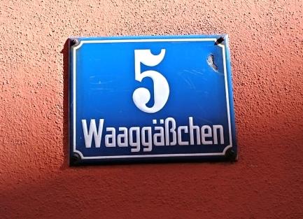 Seit Mai 2010 im Waggässchen 5, Regensburg