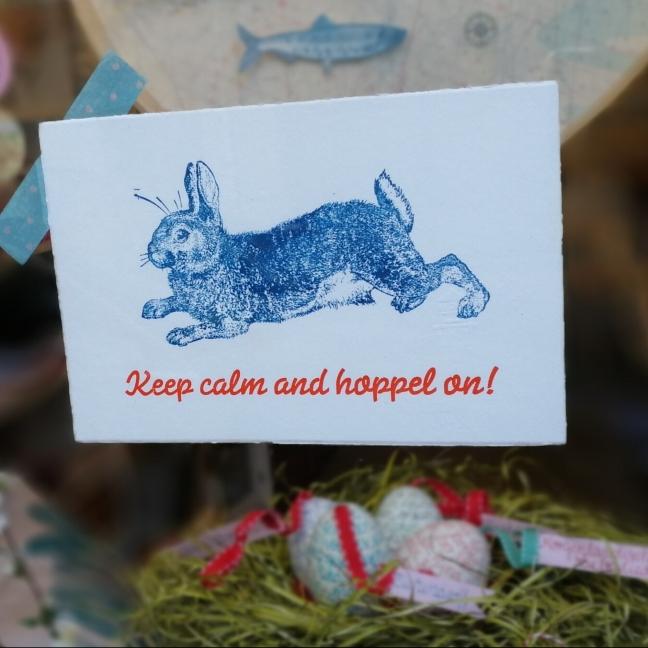 Hopp on - nicht nur zu Ostern.